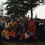 Наша группа с проводниками около зимовки