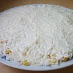 Слой - отварной рис