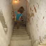 Лестница, ведущая с/на колокольню
