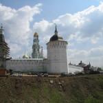 Вид на Троице-Сергиеву Лавру