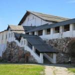Соловецкий Монастырь. Внутренние постройки.