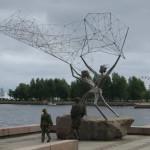 Рыбаки и сеть
