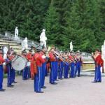 Оркестр в Петергофе