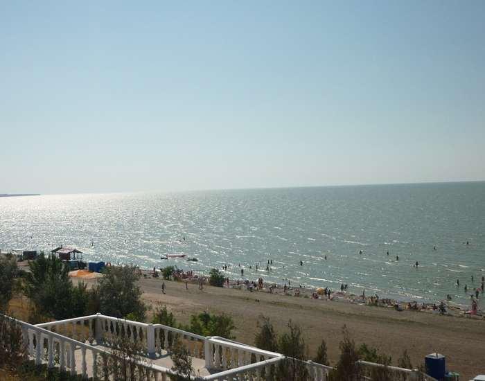 Азовское море. Таганрогский залив. Ейск.