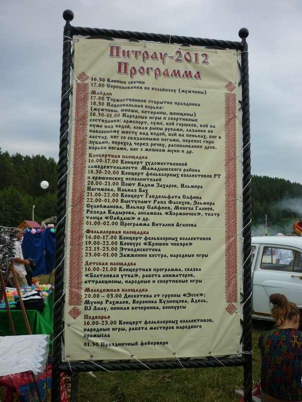 Программа Питрау 2012