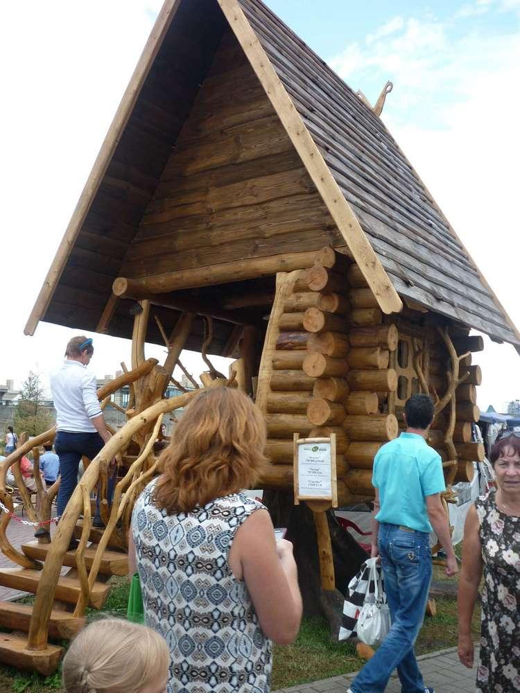 Деревянные строения