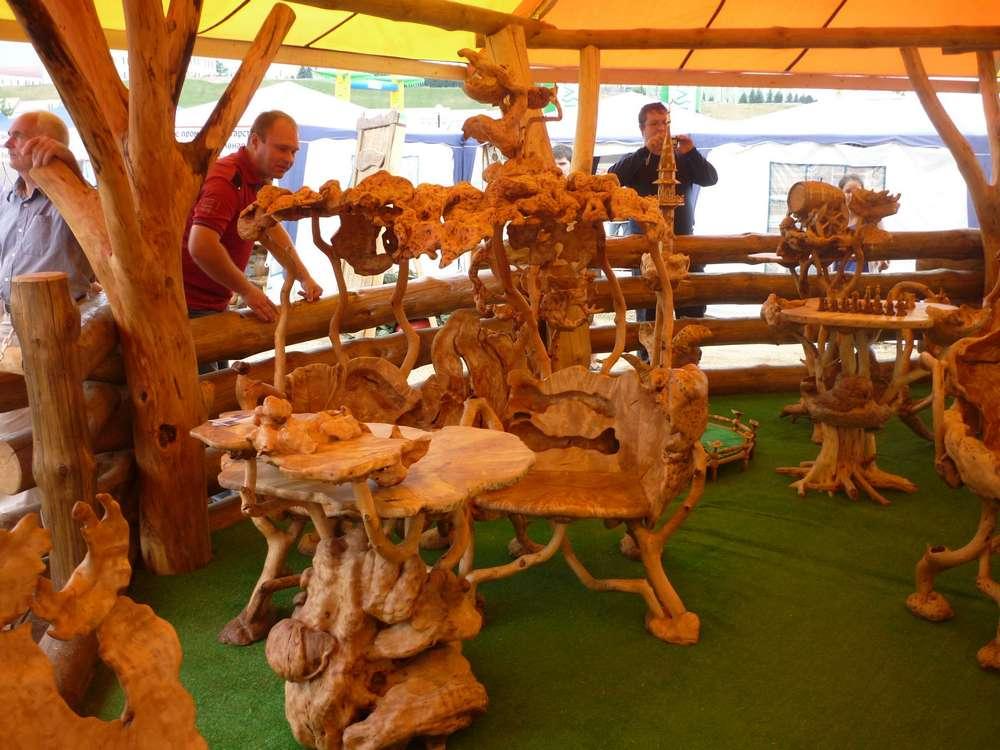Предметы декора из дерева