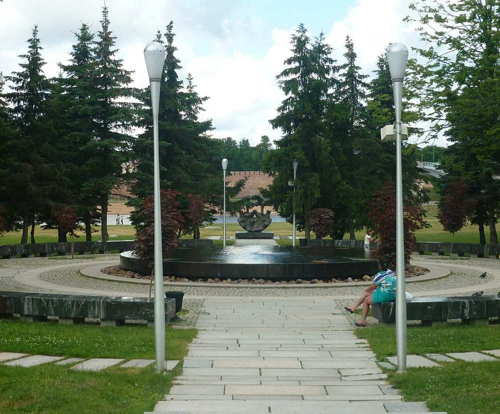 Ганзейский знак в Великом Новгороде