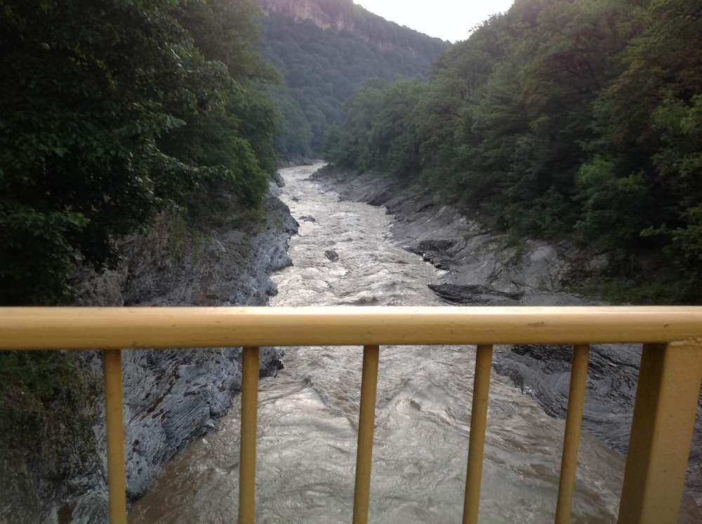 Река Белая в Адыгее