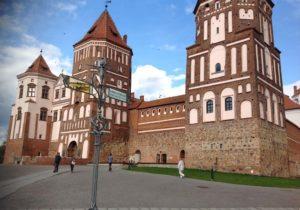 Мирский замок в Беларуссии