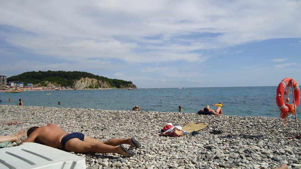 Ольгинка - пляж