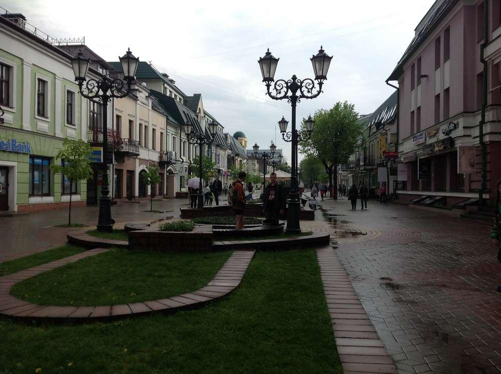 Советская улица в Бресте