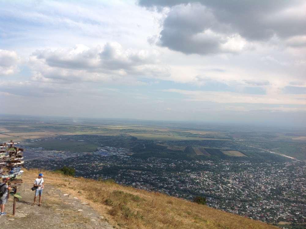 Вид с горы Машук