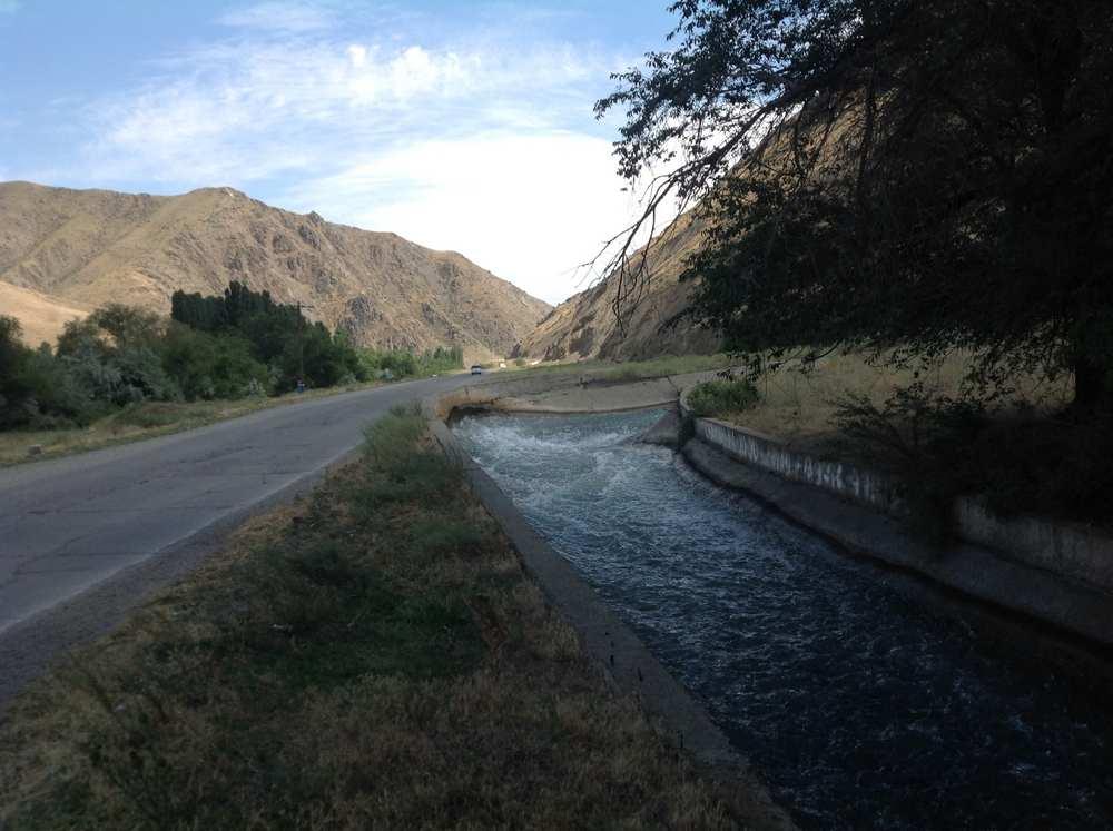Кировское водохранилище (Киргизия)