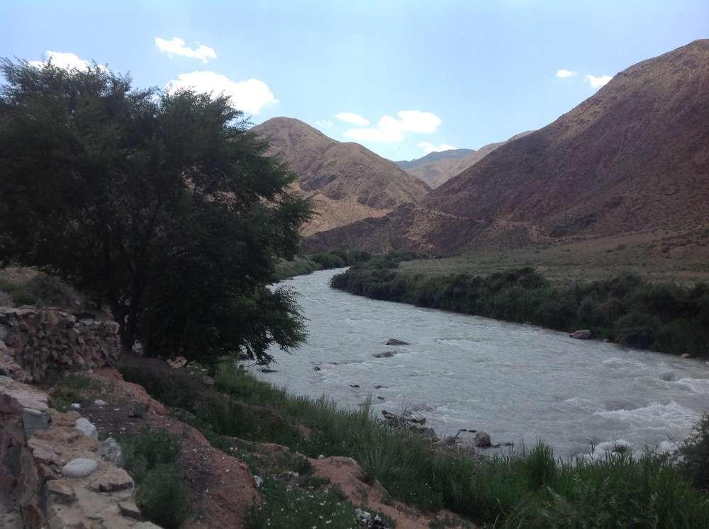Река Чу Нарынская область