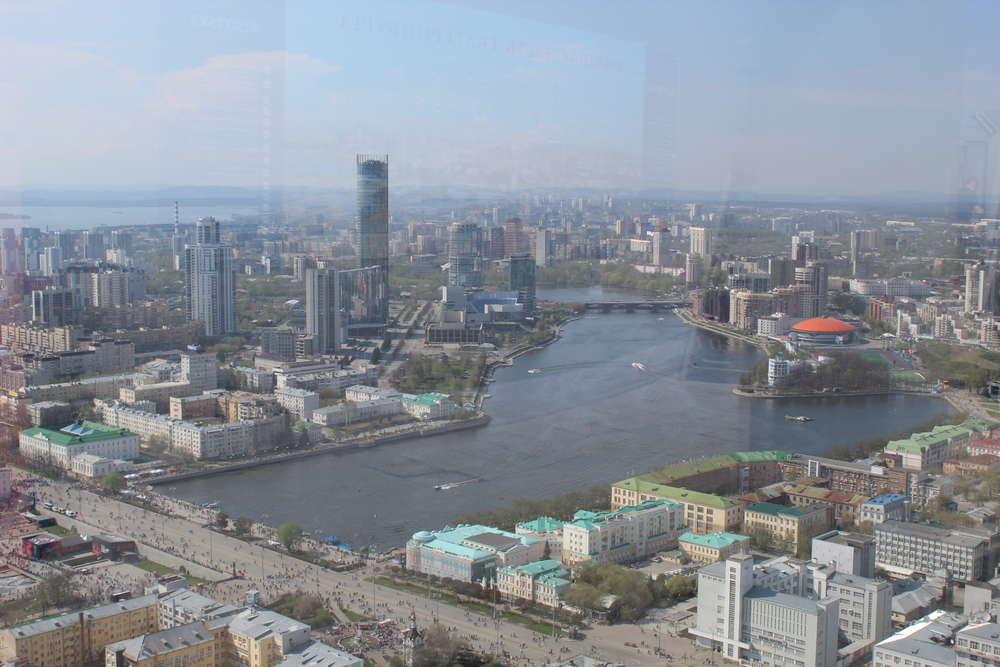 Небоскреб Высоцкий в Екатеринбурге