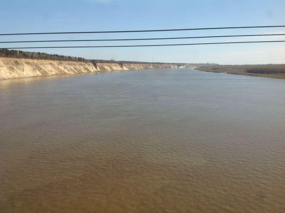 Мост через реку Иртыш