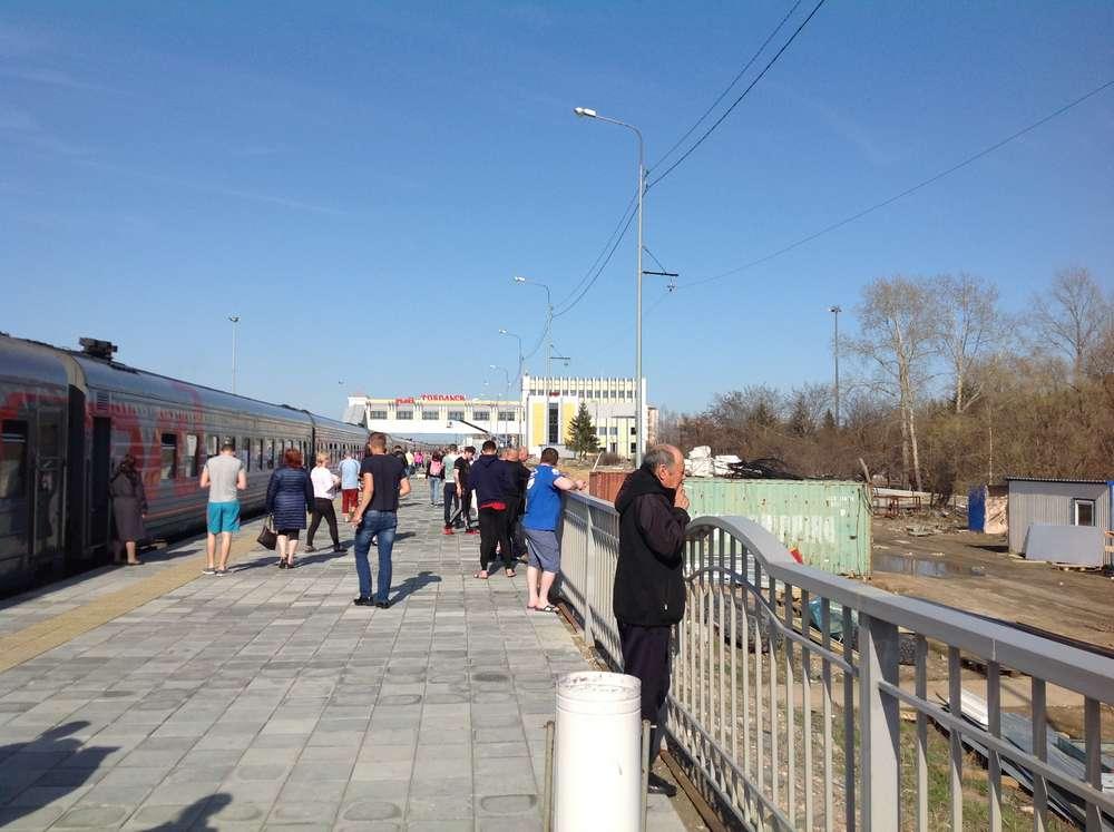 Станция Тобольск