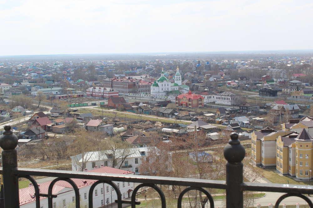 Вид из Тобольского кремля