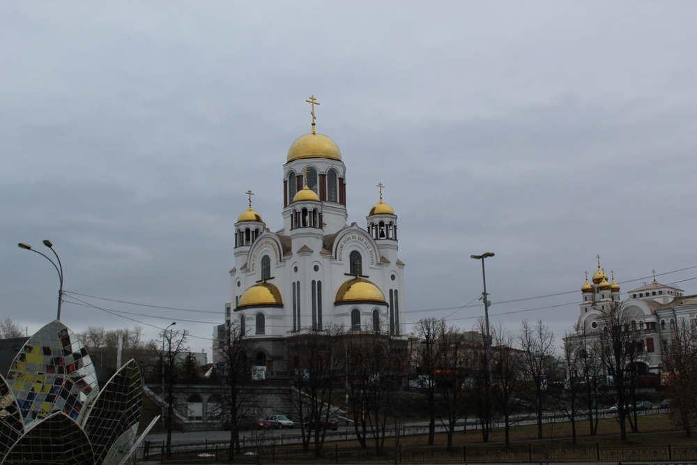 Храм-на-Крови Екатеринбург