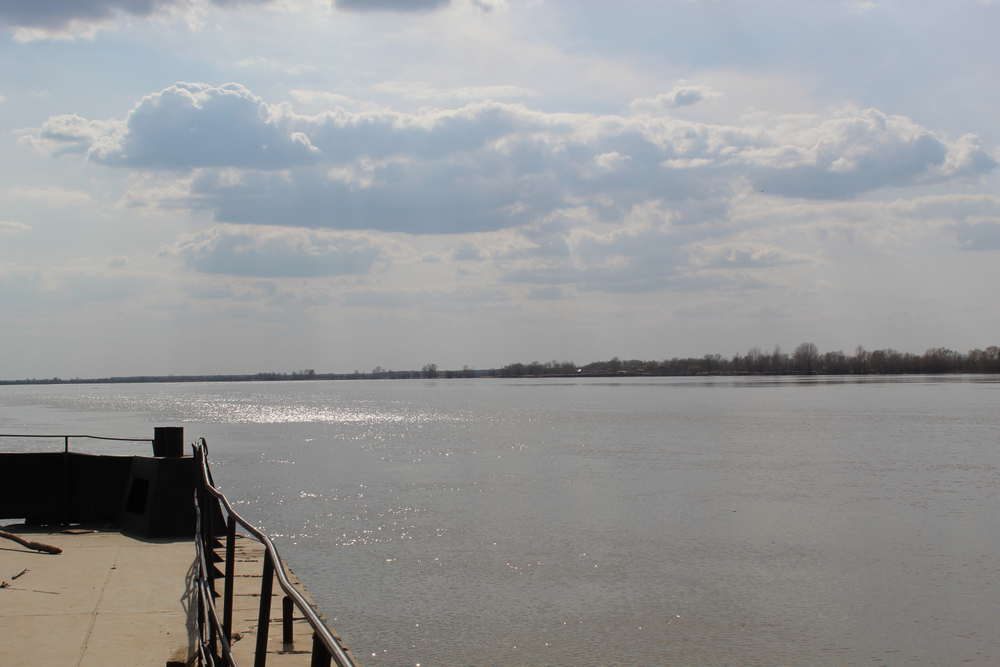 Река Иртыш в Тобольске