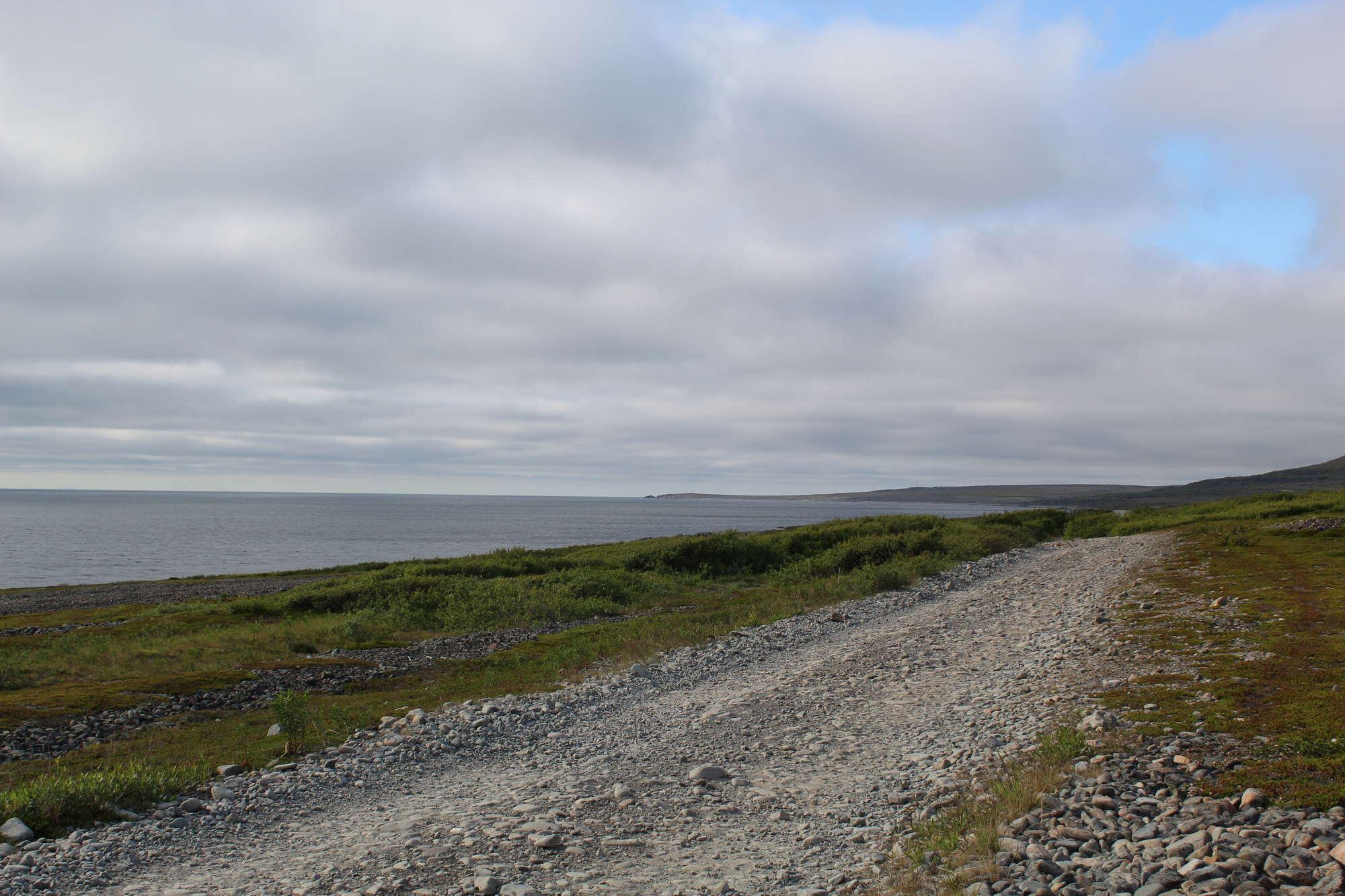 Полуостров Рыбачий Мурманская область