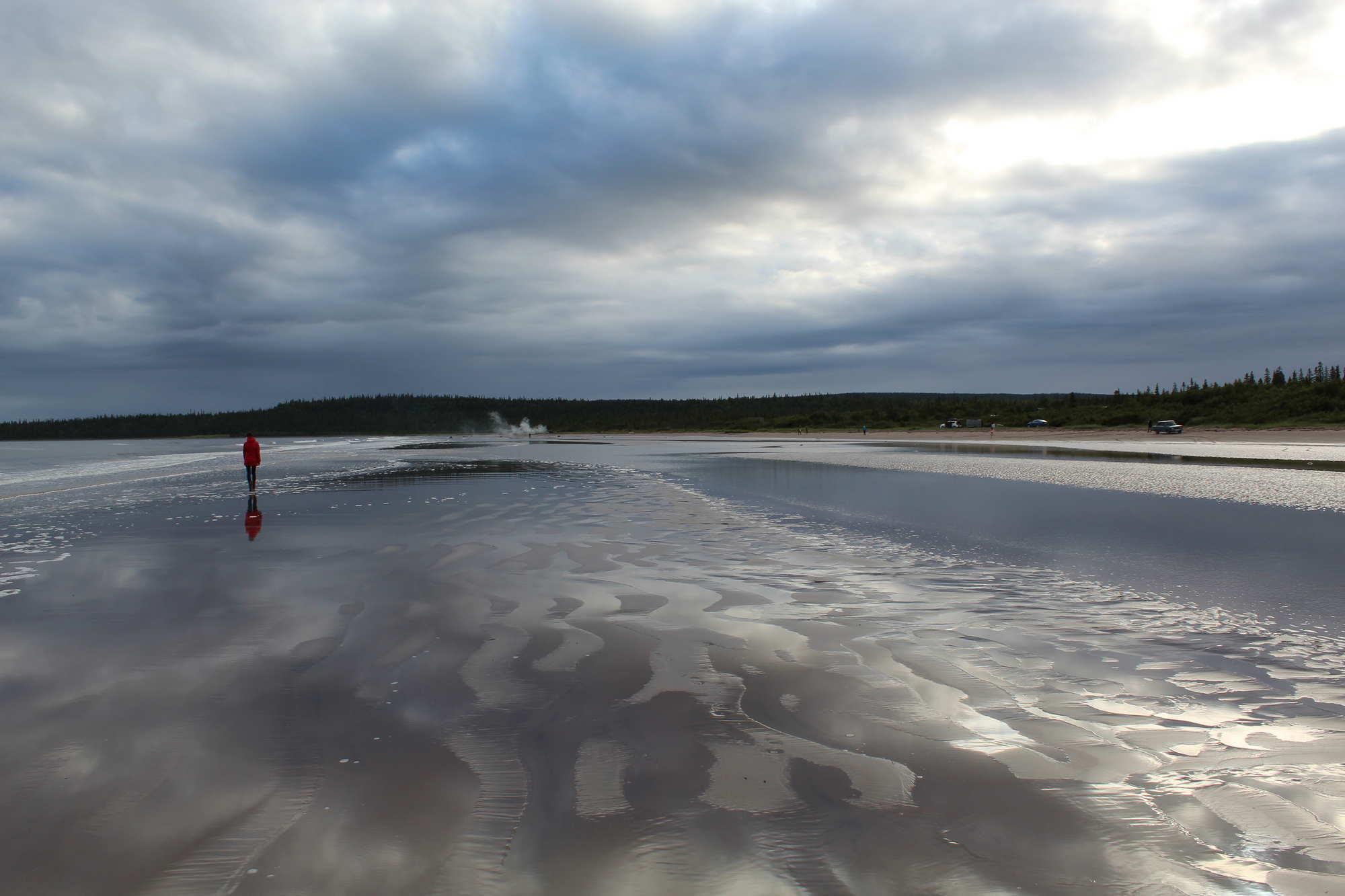 Отлив Белого моря