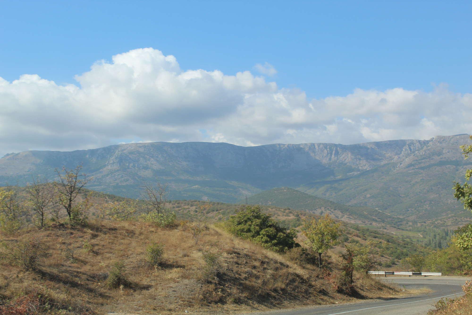 Дорога из Судака в Алушту