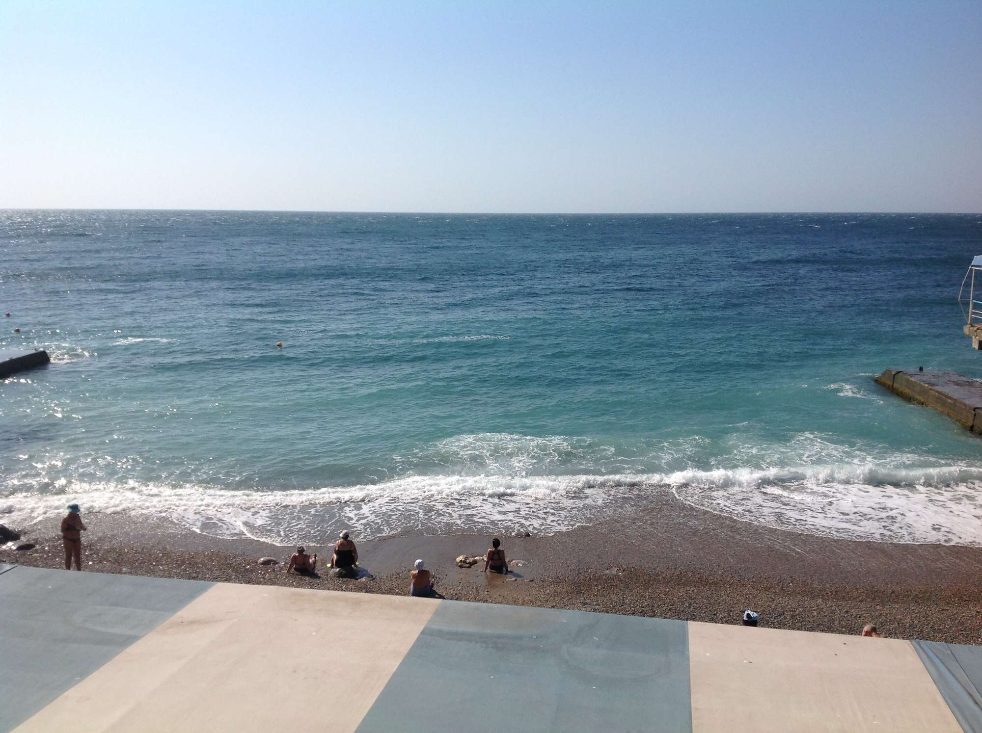Море санатория Дюльбер