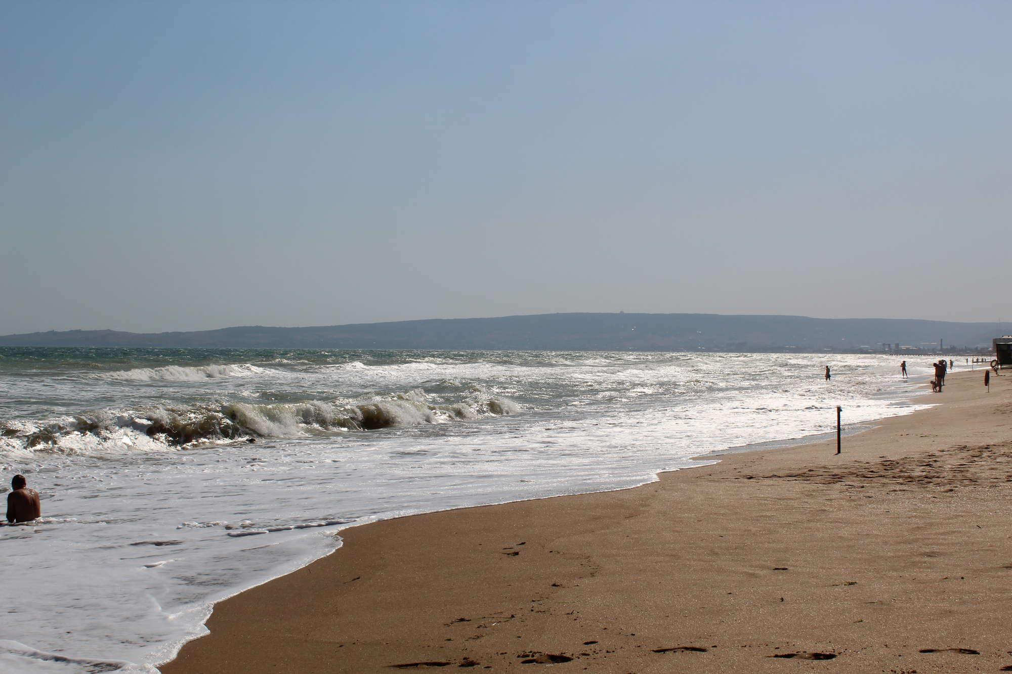 Море в Береговом (Крым)