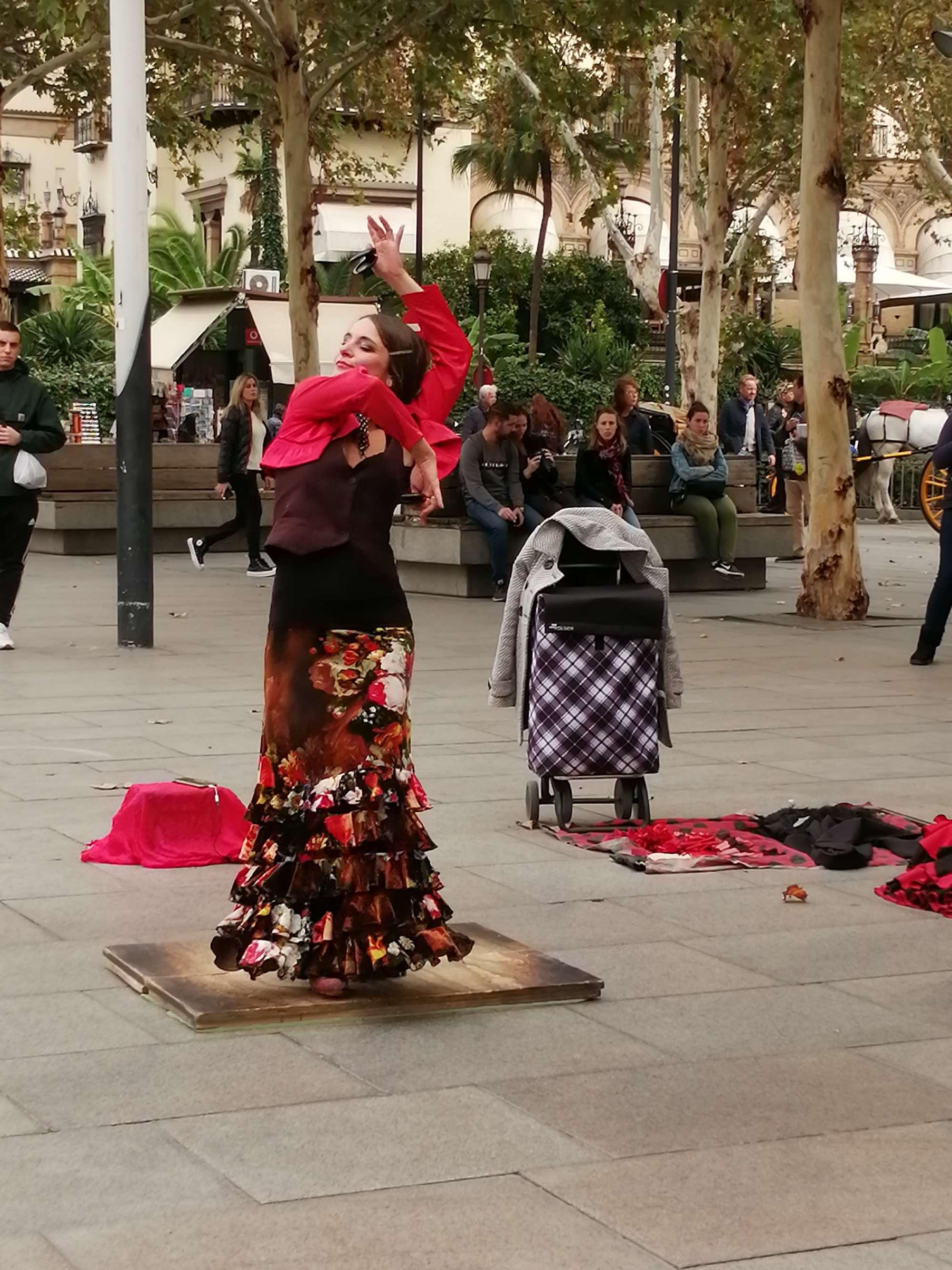 Фламенко в Севилье