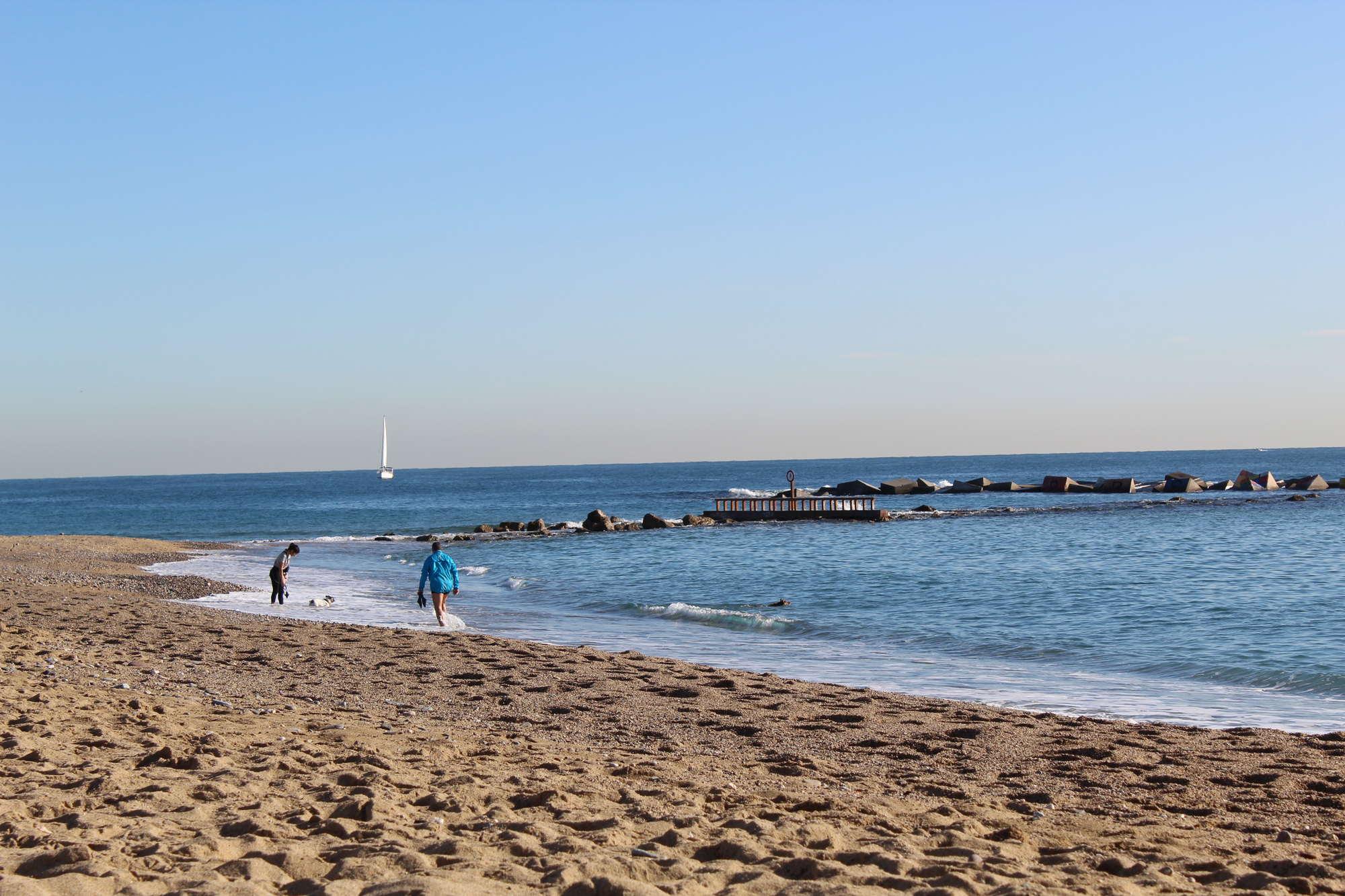 Барселона пляж