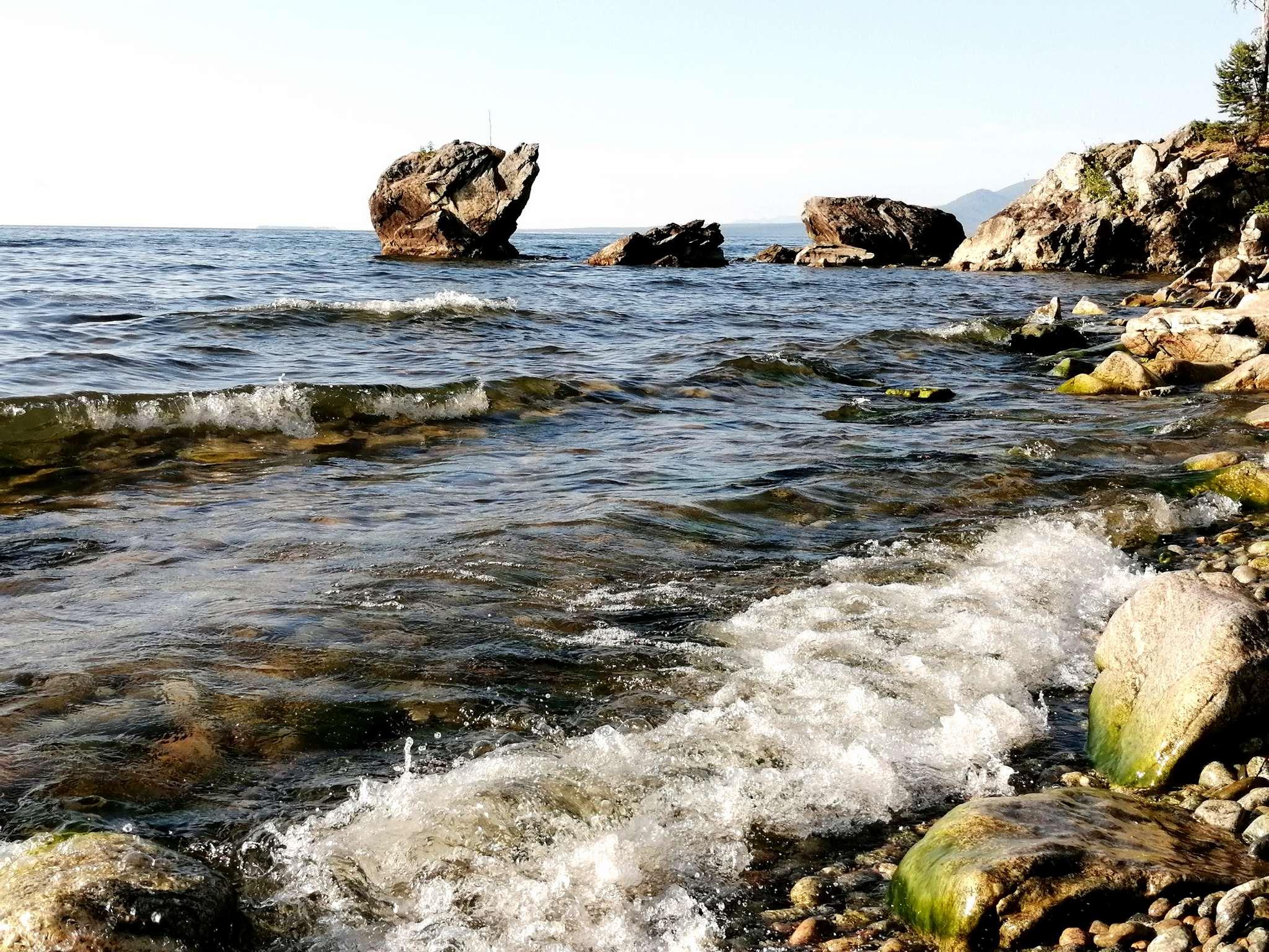 Камень Черепаха (Байкал)