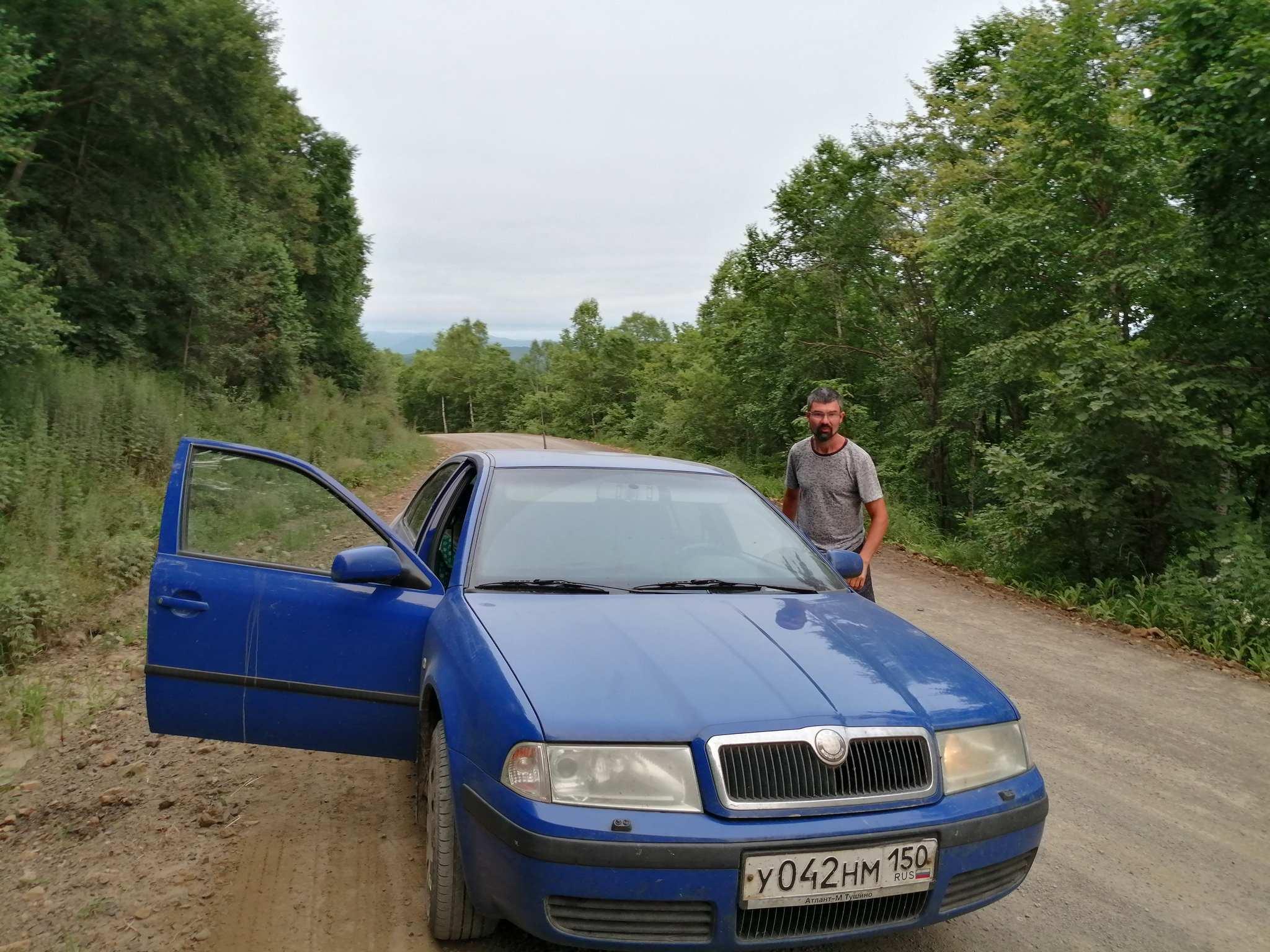 Дороги Приморья