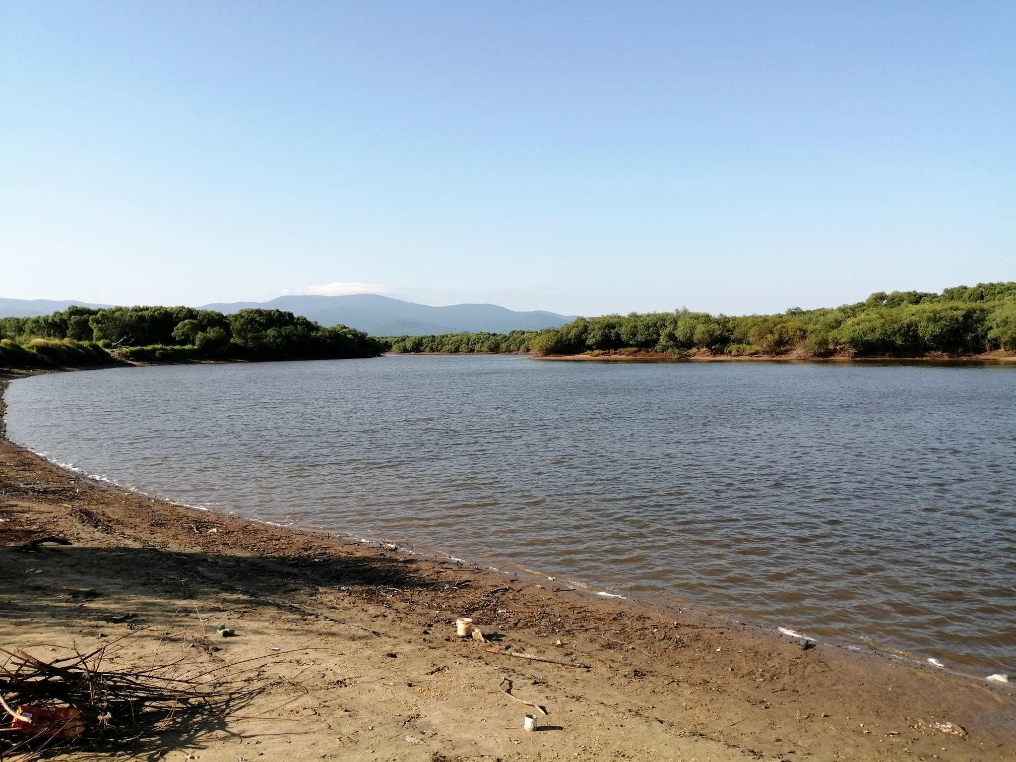 Протока реки Амур