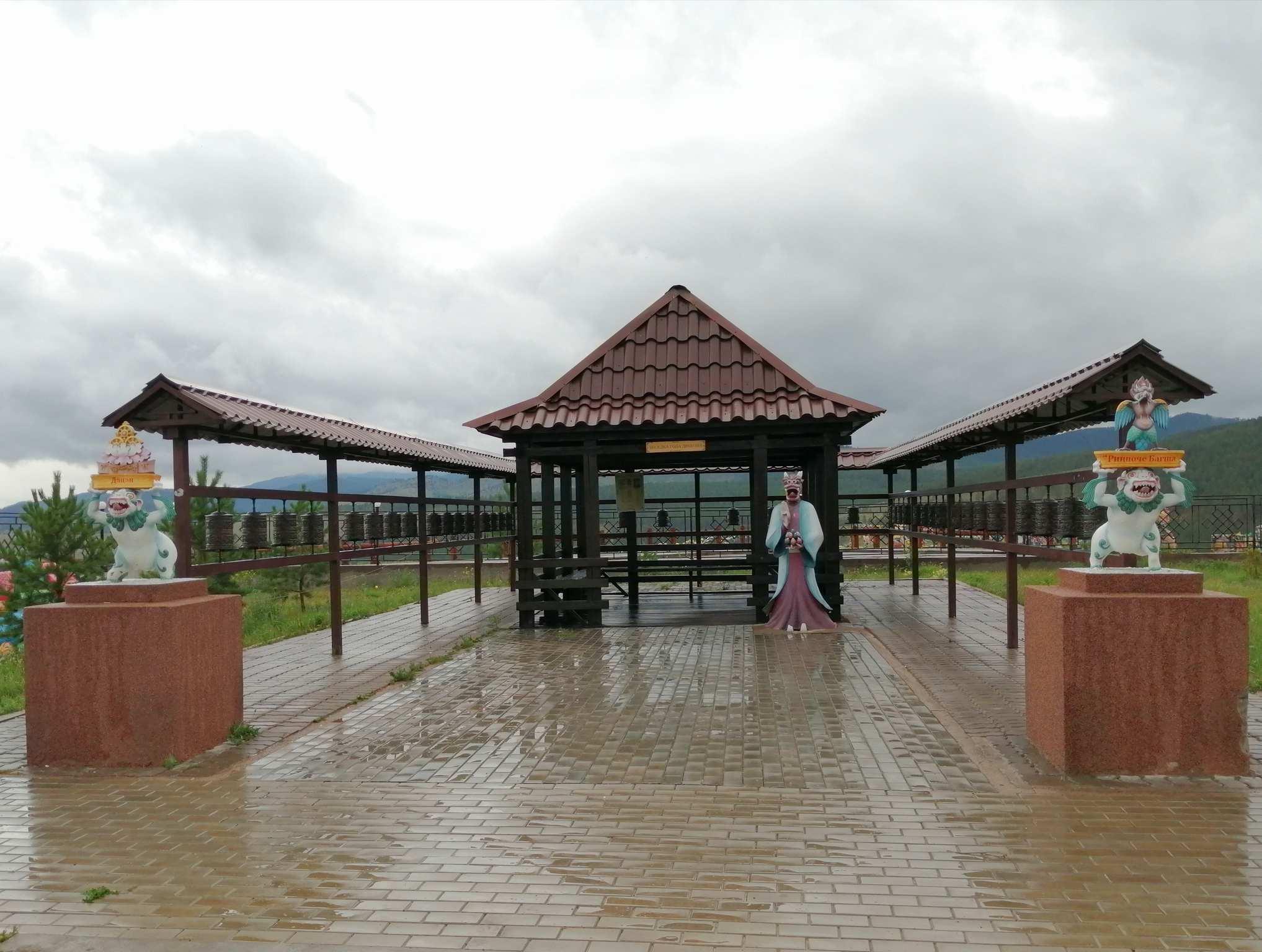 Дацан Ринпоче Багша в Улан-Удэ
